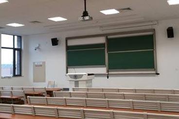 教室投影工程案例1